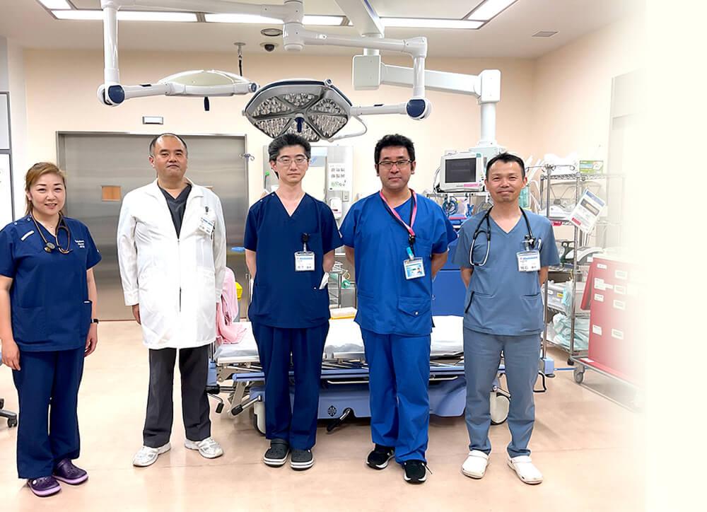 救急医学講座のスタッフたち